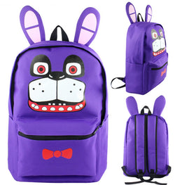 Five Nights at Freddys Bonnie Backpack Bag - Super Anime Store FREE SHIPPING FAST SHIPPING USA