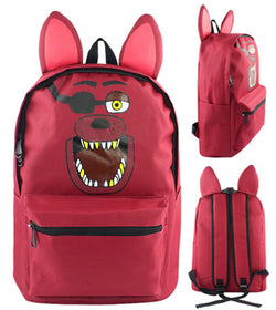Five Nights at Freddys Foxy Backpack Bag - Super Anime Store FREE SHIPPING FAST SHIPPING USA