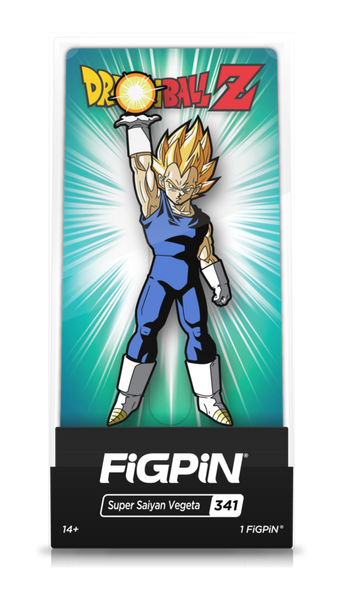 Dragon Ball Z Super Saiyan Vegeta (#341) Pin Super Anime Store