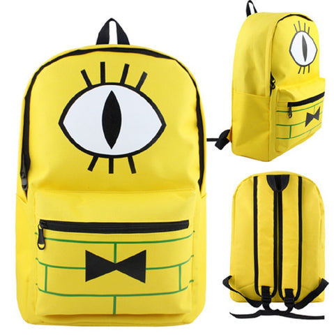 Gravity Falls Backpack Bag - Super Anime Store FREE SHIPPING FAST SHIPPING USA