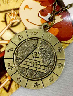Gravity Falls Necklace - Super Anime Store FREE SHIPPING FAST SHIPPING USA