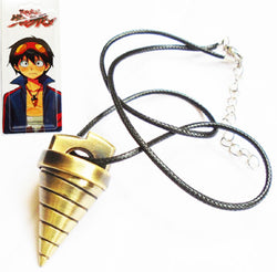 Gurren Lagan Necklace - Super Anime Store FREE SHIPPING FAST SHIPPING USA