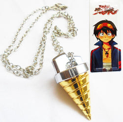 Gurren Lagann Necklace - Super Anime Store FREE SHIPPING FAST SHIPPING USA