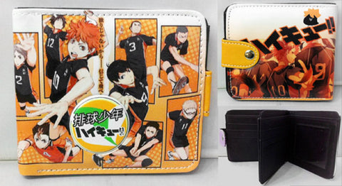 Haikyuu Group Wallet - Super Anime Store FREE SHIPPING FAST SHIPPING USA