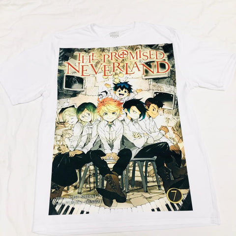 Anime The Promised Neverland T-Shirt - Super Anime Store FREE SHIPPING FAST SHIPPING USA