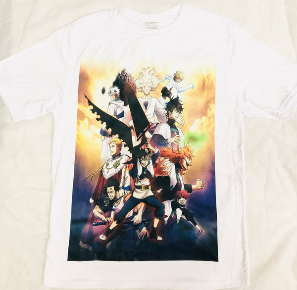 Anime Black Clover T-Shirt - Super Anime Store FREE SHIPPING FAST SHIPPING USA