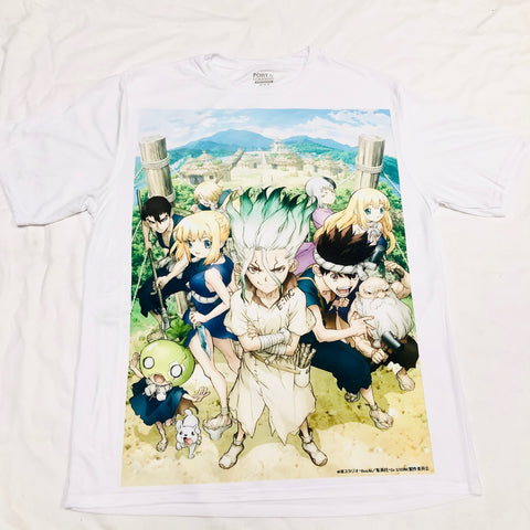 Anime Dr. Stone T-Shirt - Super Anime Store FREE SHIPPING FAST SHIPPING USA
