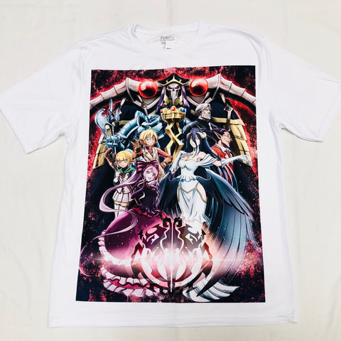 Anime Overlord T-Shirt - Super Anime Store FREE SHIPPING FAST SHIPPING USA