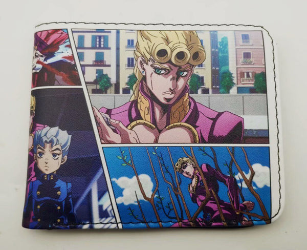 Jojo's Bizarre Adventure Wallet - Super Anime Store FREE SHIPPING FAST SHIPPING USA