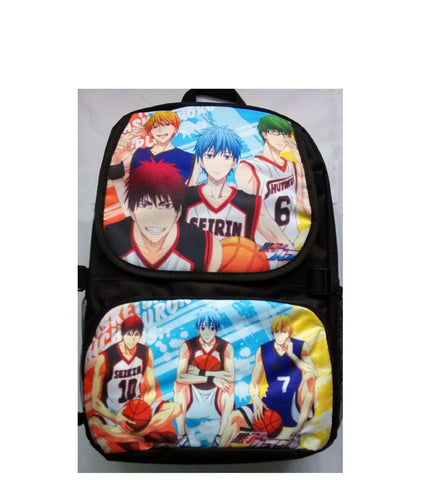 Kuroko No Basuke Backpack Bag - Super Anime Store FREE SHIPPING FAST SHIPPING USA