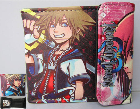 Kingdom Hearts Sora Wallet - Super Anime Store FREE SHIPPING FAST SHIPPING USA