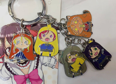 Himouto! Umaru Chan Characters Keychain - Super Anime Store FREE SHIPPING FAST SHIPPING USA