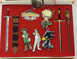 My Hero Academia Keychain Set - Super Anime Store FREE SHIPPING FAST SHIPPING USA