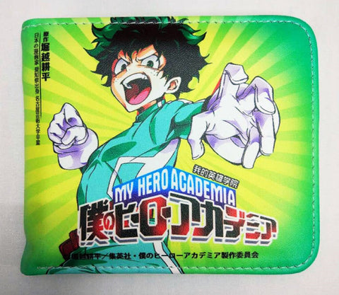 My Hero Academia Deku Wallet - Super Anime Store FREE SHIPPING FAST SHIPPING USA