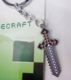 Minecraft keychain - Super Anime Store FREE SHIPPING FAST SHIPPING USA