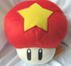 Super Mario Bros Star Mushroom Plush Doll Super Anime Store