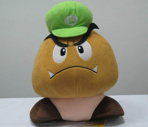Super Mario Bros Goomba Plush Doll - Super Anime Store FREE SHIPPING FAST SHIPPING USA