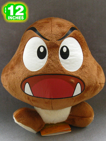 Super Mario Bros Goomba Plush Doll 8 Inches - Super Anime Store FREE SHIPPING FAST SHIPPING USA