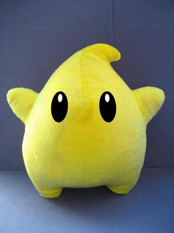 Super Mario Galaxy Power Star Luma Plush Doll - Super Anime Store FREE SHIPPING FAST SHIPPING USA