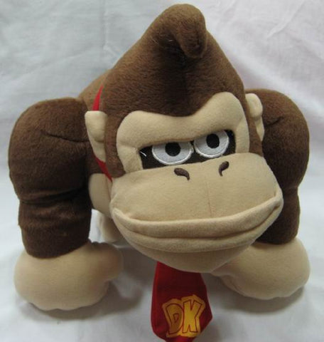 Video Game Donkey Kong Plush Doll - Super Anime Store FREE SHIPPING FAST SHIPPING USA
