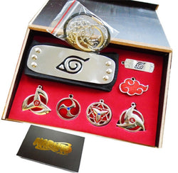 Naruto Necklace Set