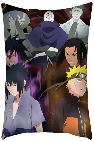 Naruto Vs Sasuke Pillow Super Anime Store
