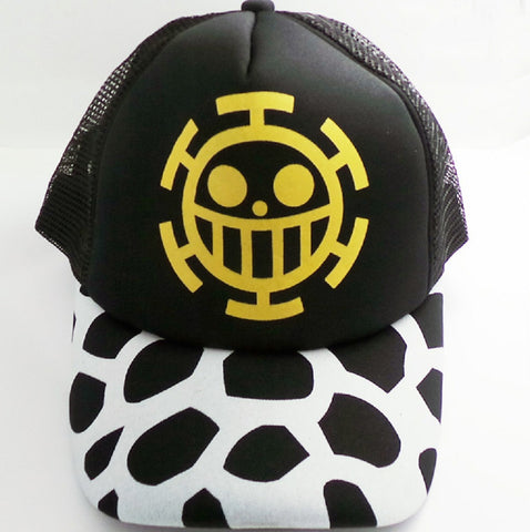 One Piece Trafalgar Law Hat Cap - Super Anime Store FREE SHIPPING FAST SHIPPING USA