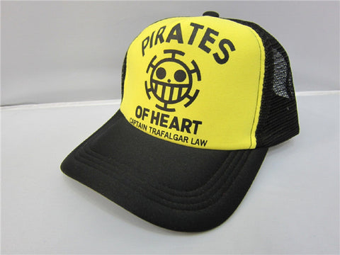 One Piece Law Cap Hat