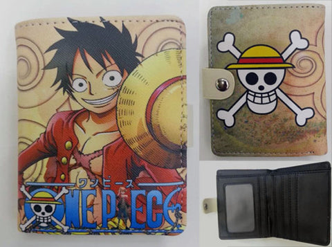 One Piece Luffy Wallet - Super Anime Store FREE SHIPPING FAST SHIPPING USA