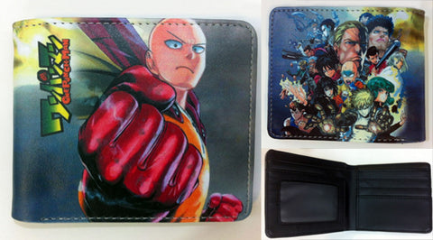 One Punch Man All Heros Wallet - Super Anime Store FREE SHIPPING FAST SHIPPING USA