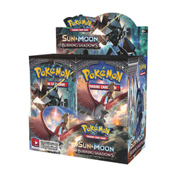 Pokémon TCG: Sun & Moon-Burning Shadows Booster Display Box (36 Packs) Super Anime Store