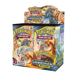 Pokémon TCG: Sun & Moon-Unbroken Bonds Booster Display Box (36 Packs) Super Anime Store