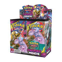 Pokémon TCG: Sun & Moon-Unified Minds Booster Display Box (36 Booster Packs) Super Anime Store