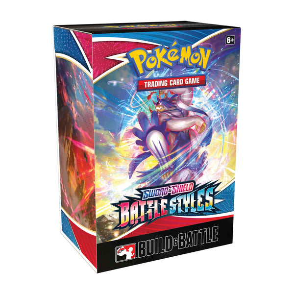 Pokémon TCG: Sword & Shield-Battle Styles Build & Battle Box Super Anime Store