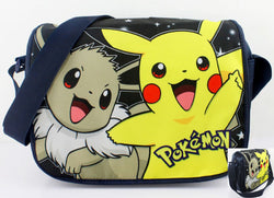 Super Anime Store Pokemon Eevee & Pikachu Messenger Bag