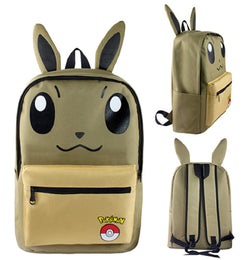 Eevee Backpack Bag - Super Anime Store FREE SHIPPING FAST SHIPPING USA