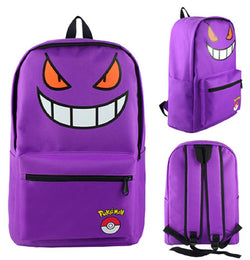 Gengar Backpack Bag - Super Anime Store FREE SHIPPING FAST SHIPPING USA