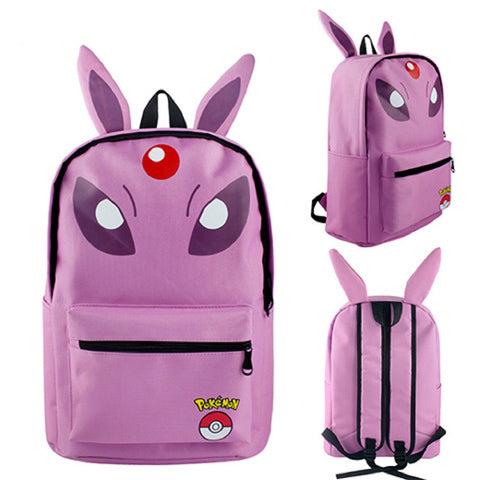 Espeon Backpack Bag - Super Anime Store FREE SHIPPING FAST SHIPPING USA