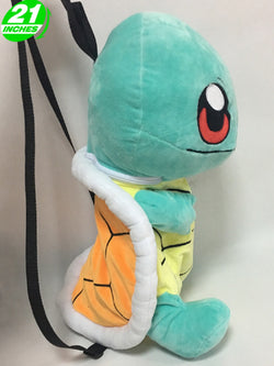 Super Anime Store Pokemon Squirtle Plush Backpack Bag