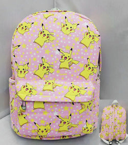 Pokemon Pikachu Pink Backpack Bag