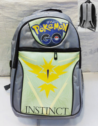 Team Instinct Backpack Bag - Super Anime Store FREE SHIPPING FAST SHIPPING USA
