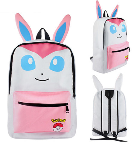 Sylveon Backpack Bag - Super Anime Store FREE SHIPPING FAST SHIPPING USA