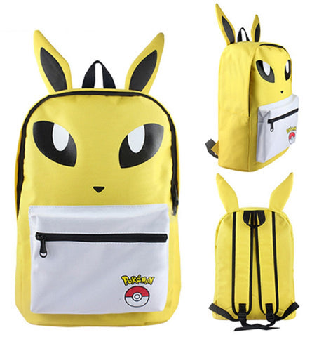 Jolteon Backpack Bag - Super Anime Store FREE SHIPPING FAST SHIPPING USA