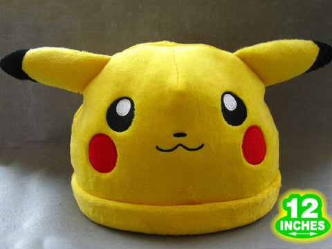 Pikachu Cosplay Hat - Super Anime Store FREE SHIPPING FAST SHIPPING USA