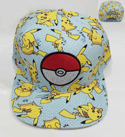 Pokemon Pikachu Pokeball Hat