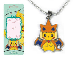Pokemon Pikachu Pikachard Necklace