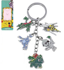 Heracross Grovyl & Others Keychain - Super Anime Store FREE SHIPPING FAST SHIPPING USA