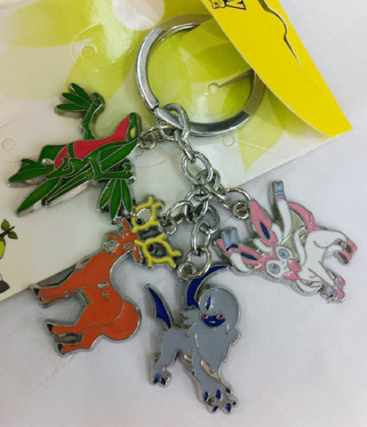 Pokemon Keychain Absol & Others