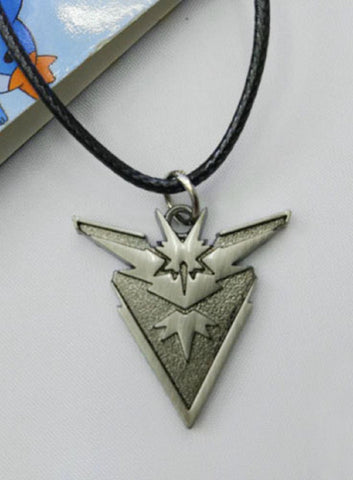 Super Anime Store Pokemon Team Instinct Necklace