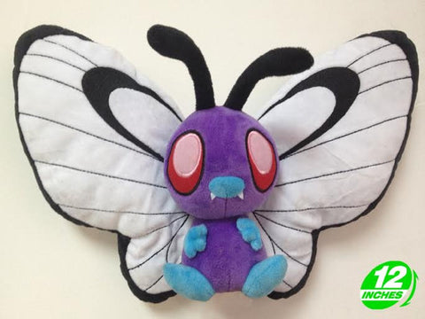 Bye Bye Butterfree Plush Doll - Super Anime Store FREE SHIPPING FAST SHIPPING USA